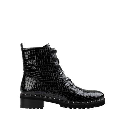 スティーブ マデン STEVE MADDEN ショートブーツ ブラック 6 合成繊維 ショートブーツ