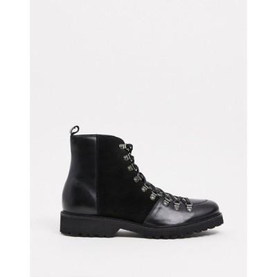 ボロンガロトレバー メンズ ブーツ・レインブーツ シューズ Bolongaro Trevor suede & leather boots
