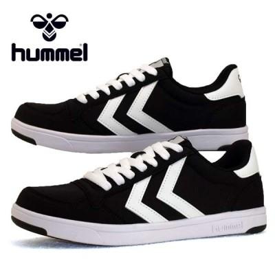 [30%OFF] ヒュンメル HUMMEL STADIL LIGHT CANVAS 208263 2001 黒 スタディール ライト キャンバス スニーカー メンズ