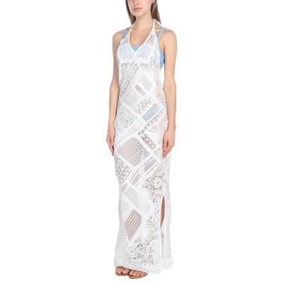 アンジュナ ANJUNA ビーチドレス ホワイト S 指定外繊維(紙) 80% / ナイロン 20% ビーチドレス