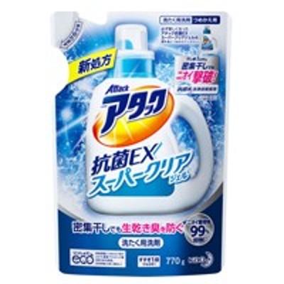 アタック抗菌EXスーパークリアジェル 詰替770g 4901301335180