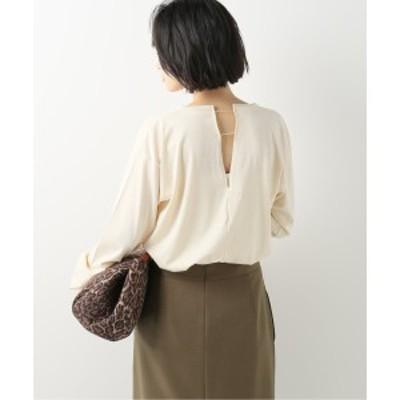 【NEW】イエナ(IENA)/レディスカットソー(【Loro/ローロ】DELTA SLIT LONG Tシャツ)