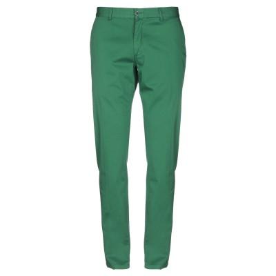 TWENTY-ONE パンツ グリーン 54 コットン 97% / ポリウレタン 3% パンツ