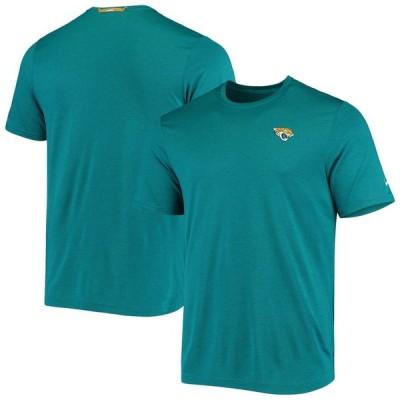 ジャクソンビル・ジャガーズ Nike Coaches Performance T-シャツ - Teal