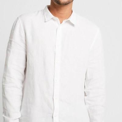 ピアワン メンズ ファッション Shirt - white