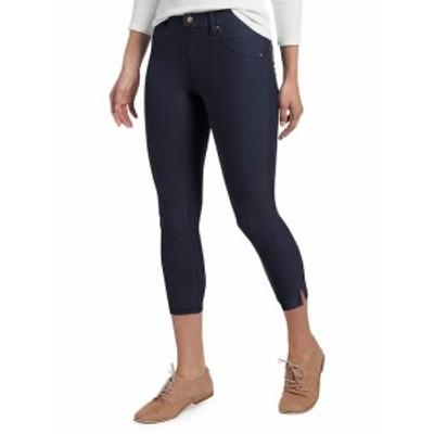 ヒュー レディース パンツ デニム Ankle Slit Essential Denim Capri Pants