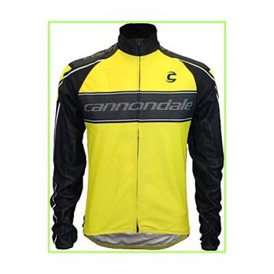 Cannondale Performance 2 長袖ジャージー XL イエロー/ブラック【並行輸入品】