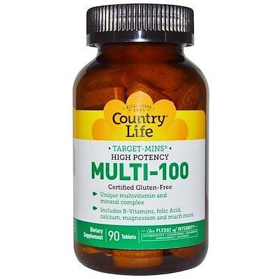 Multi-100, 90 Tablets