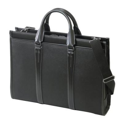 LINA GINO クロス ブリーフケース 22-5318 ブラック  キャンセル返品不可 他の商品と同梱・同時購入不可