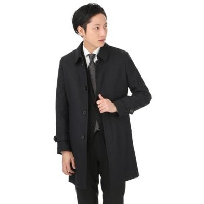 ステンカラースタイリッシュコート【合繊】【37.5テクノロジー】