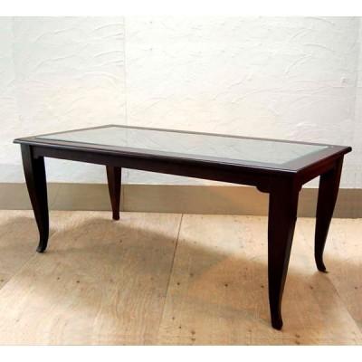 ダイニングテーブル180ガラス・6人掛け・チーク無垢材・インドネシア直輸入・組立式