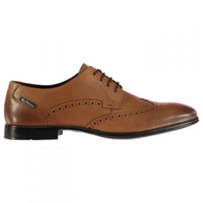 ベンシャーマン Ben Sherman メンズ シューズ・靴 Leadenhal Shoes Tan Lthr