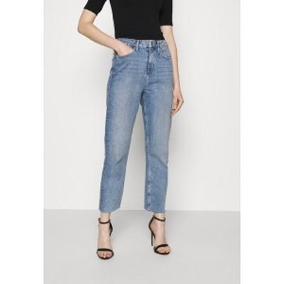 ミスセルフフリッジ レディース デニムパンツ ボトムス LIGHT MID - Slim fit jeans - mid blue mid blue