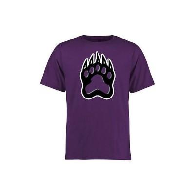 ファナティックスブランディッド カレッジ スポーツ NCAA アメリカ USA 大学 Central Arkansas ベアーズ パープル Alternate Logo One Tシャツ