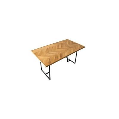 NOWHERE LIKE HOME ダイニングテーブル 「Node/ノード」 ヘリンボーン天板 135cm