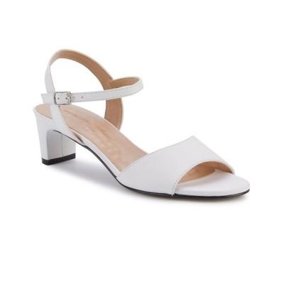 ウォーキング クレイドル サンダル シューズ レディース Lydia Dress Sandal White Leather