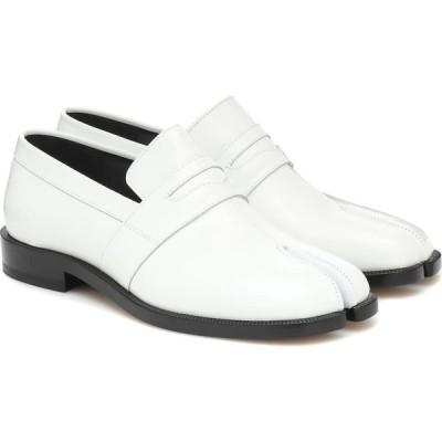 メゾン マルジェラ Maison Margiela レディース ローファー・オックスフォード シューズ・靴 Tabi Patent-Leather Loafers