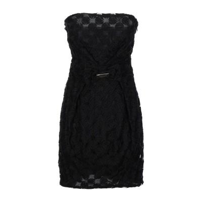 CRISTINAEFFE COLLECTION ミニワンピース&ドレス ブラック 42 ポリエステル 100% ミニワンピース&ドレス
