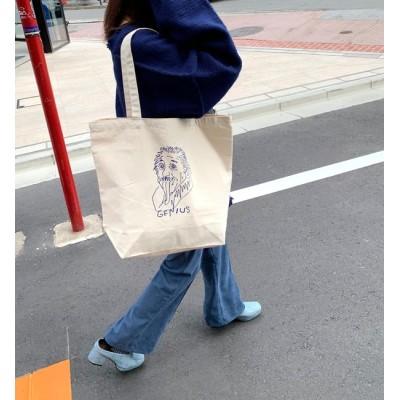 【フーズフーギャラリー/WHO'S WHO gallery】 手書き偉人キャンバストートバッグ