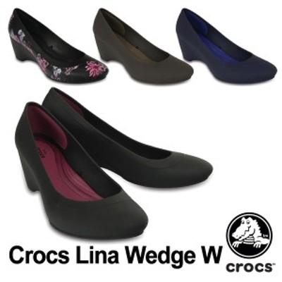 【送料無料】クロックス(CROCS) クロックス リナ ウェッジ ウィメン(crocs lina wedge w)[AA]