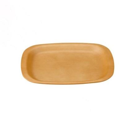小判木目トレー 総ナチュラル 尺2寸 3個セット 和美作日 Wabisabi(3-308-08) キッチン、台所用品