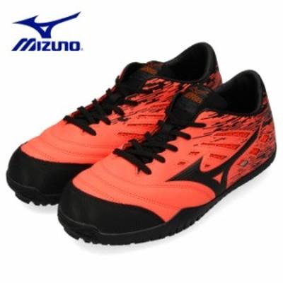 【還元祭クーポン対象】 ミズノ MIZUNO 安全靴 ワーキングシューズ 男性 メンズ F1GA1900 54 オールマイティ ALMIGHTY TD11L オレンジ