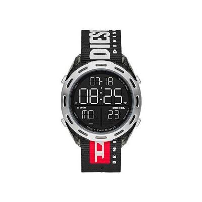 Diesel Crusher デジタル腕時計 One Size ブラック