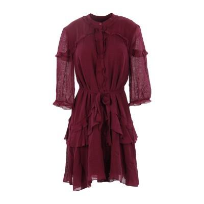 サローニ SALONI ミニワンピース&ドレス ダークパープル 10 シルク 100% ミニワンピース&ドレス