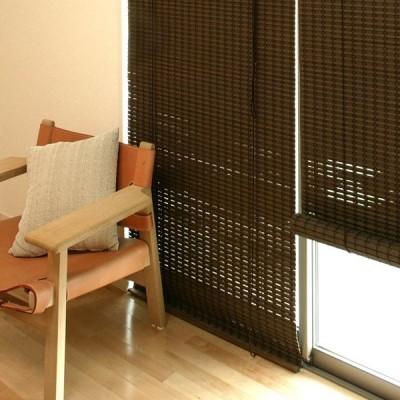 すだれ 竹 簾 ロールスクリーン 窓 目隠し 間仕切り 室内 巻き上げ おしゃれ 88×135