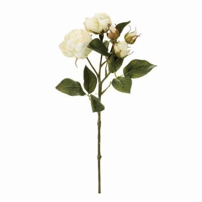 特価 造花 MAGIQ 東京堂  パシュミナローズ CR WH FM000967-001 造花 花材「は行」 バラ
