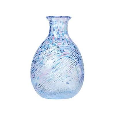東洋佐々木ガラス 徳利 ブルー 240ml WA171