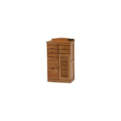 HAGIHARA/ハギハラ【メーカー直送代引不可】  納期12月以降 木製FAX台/ライトブラウン MFX-8207LBR