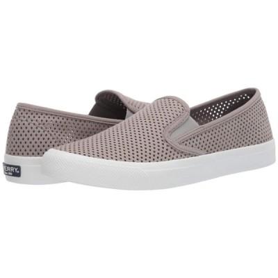 スペリートップサイダー Sperry レディース シューズ・靴 Seaside Perf Leather Grey