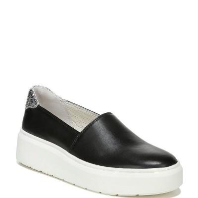 フランコサルト レディース スニーカー シューズ Lodi2 Leather Slip-On Platform Sneakers Black