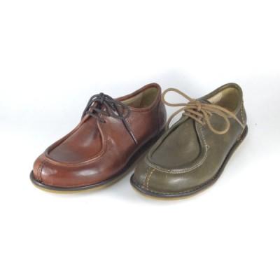 rabokigoshi 靴 raboshigoshi absolute 靴 7542 BR KHA チロリアンシューズ レースアップシューズ コンフォートシューズ 履きやすい靴 レディース 小さいサイズ