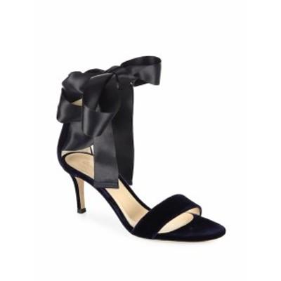 ジャンヴィトロッシ レディース シューズ サンダル Velvet Satin Bow Sandals