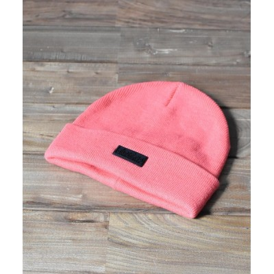 realize / 【63】【WILD THINGS】MINI LOGO WATCH CAP WOMEN 帽子 > ニットキャップ/ビーニー