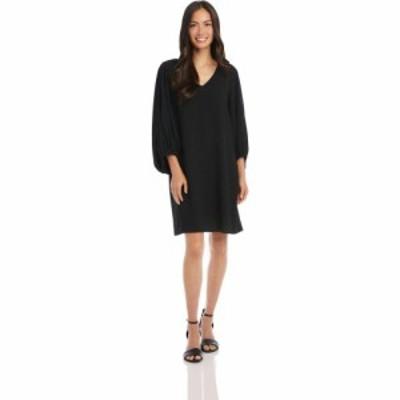 カレンケーン Karen Kane レディース ワンピース ワンピース・ドレス Bishop Sleeve Dress Black