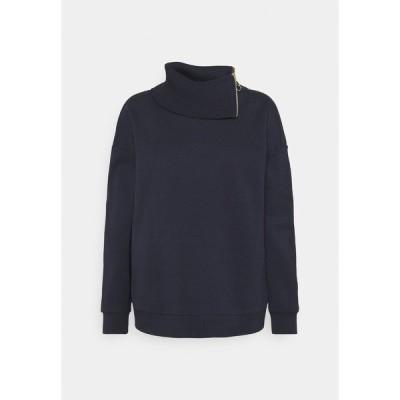 リアニ パーカー・スウェットシャツ レディース アウター Sweatshirt - deep blue