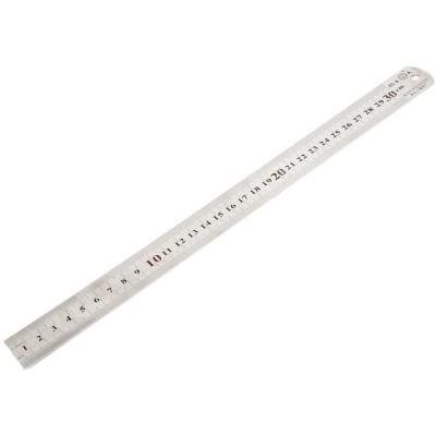 30cm測定両面0.5mm精度ステンレス鋼ストレート定規