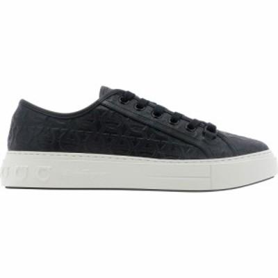 サルヴァトーレ フェラガモ Salvatore Ferragamo メンズ スニーカー シューズ・靴 Anson 2 Sneakers Black