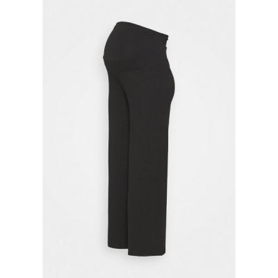 アンナ フィールド ママ カジュアルパンツ レディース ボトムス Tracksuit bottoms - black