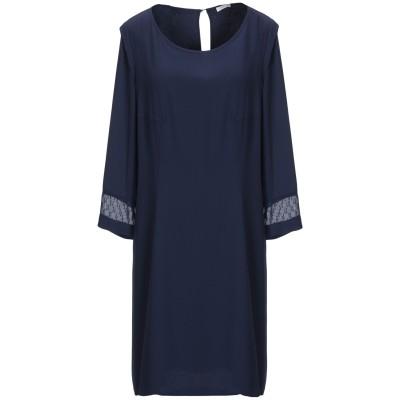 パトリツィア ペペ PATRIZIA PEPE ミニワンピース&ドレス ダークブルー 40 ポリエステル 100% ミニワンピース&ドレス