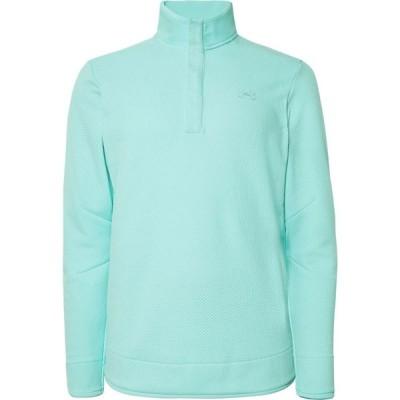 アンダーアーマー UNDER ARMOUR メンズ スウェット・トレーナー トップス sweatshirt Turquoise