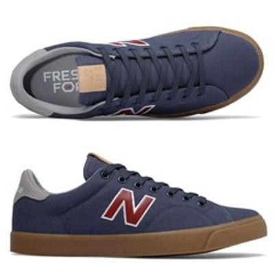 NEW BALANCE ニューバランス All Coasts AM210BNG [サイズ:28cm (US10) Dワイズ] [カラー:ネイビー×レッド] 靴