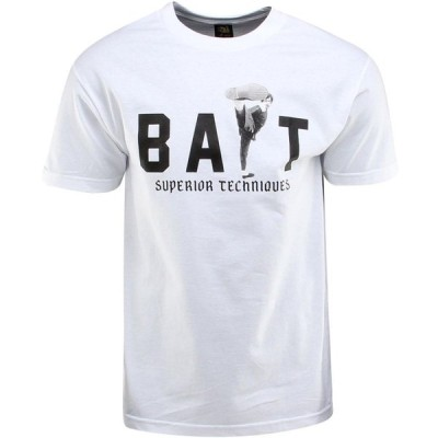 BAIT メンズ Tシャツ トップス x Bruce Lee High Kick Tee - SDCC Exclusive white/black