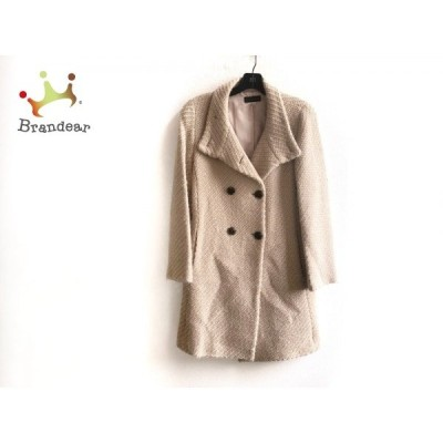 クローラ CROLLA コート サイズ38 M レディース 美品 ベージュ 冬物     スペシャル特価 20201129