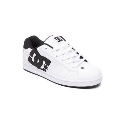 スニーカー ディーシーシューズ DC Shoes Men's Net SE Low Top Sneaker Shoes White Wht Blk Footwear Skate Casual