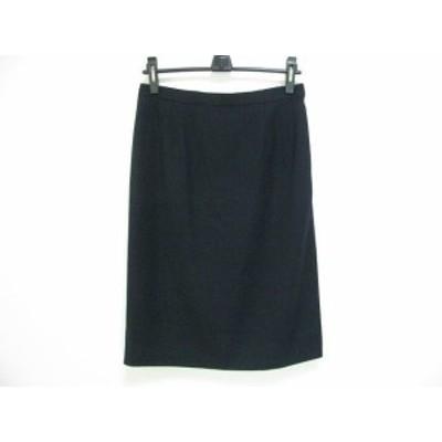バーバリーズ Burberry's スカート サイズ15 L レディース ネイビー【還元祭対象】【中古】20200805