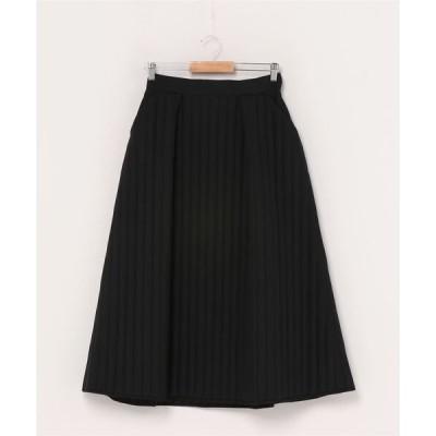 スカート Ray BEAMS / キルティング Aライン スカート